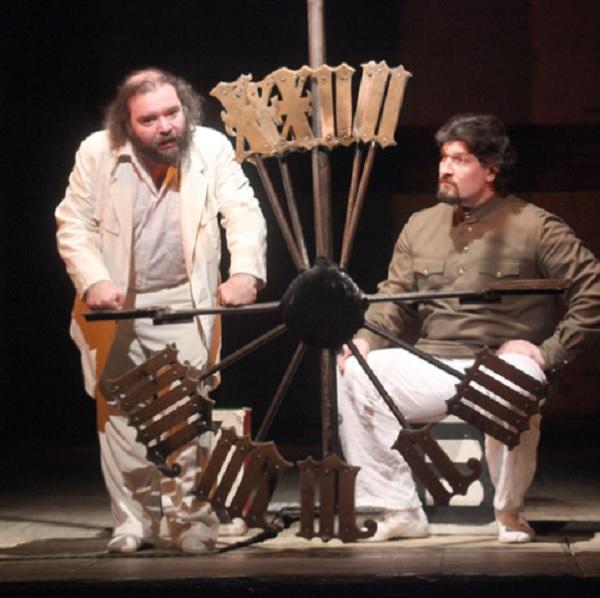 Спектакль «Мастер и Маргарита» в Театре на Таганке