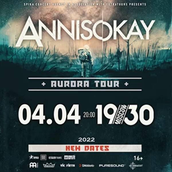 Концерт группы Annisokay 4 апреля