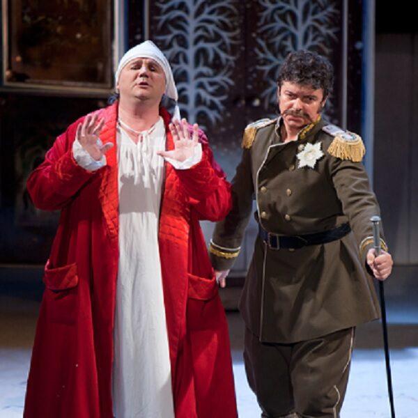 Спектакль «Амуры в снегу» в Театре Маяковского