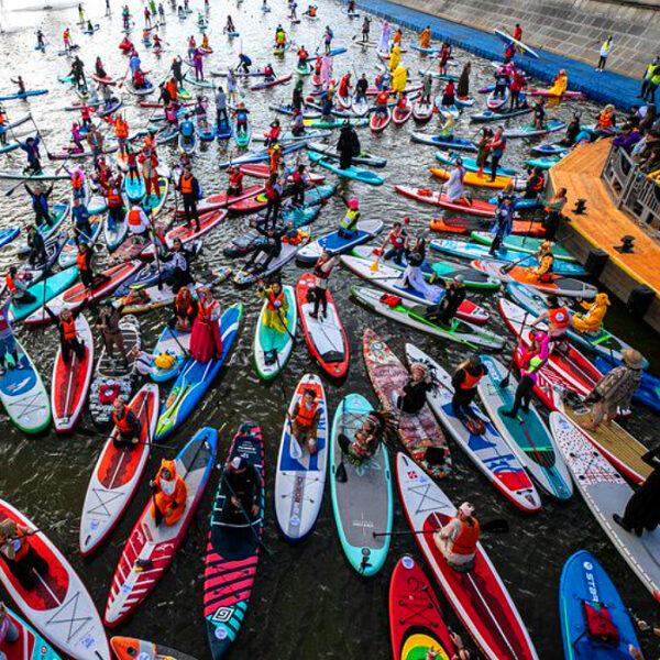 Фестиваль сапсерфинга Open Water SUP Fest