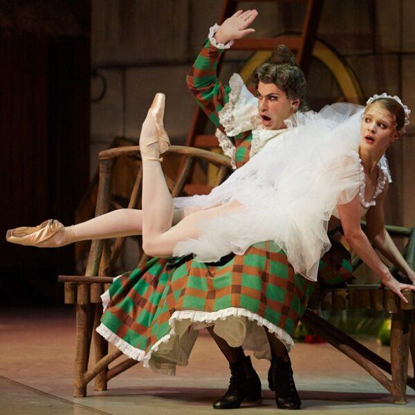 Балет «Тщетная предосторожность» в Михайловском театре