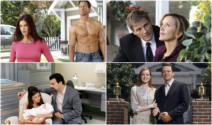 «Отчаянные домохозяйки»: все любимые женщины актеров сериала