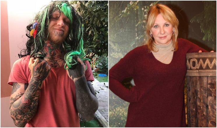 Сын звезды сериала «Каменская» Елены Яковлевой решил избавиться от татуировок на лице