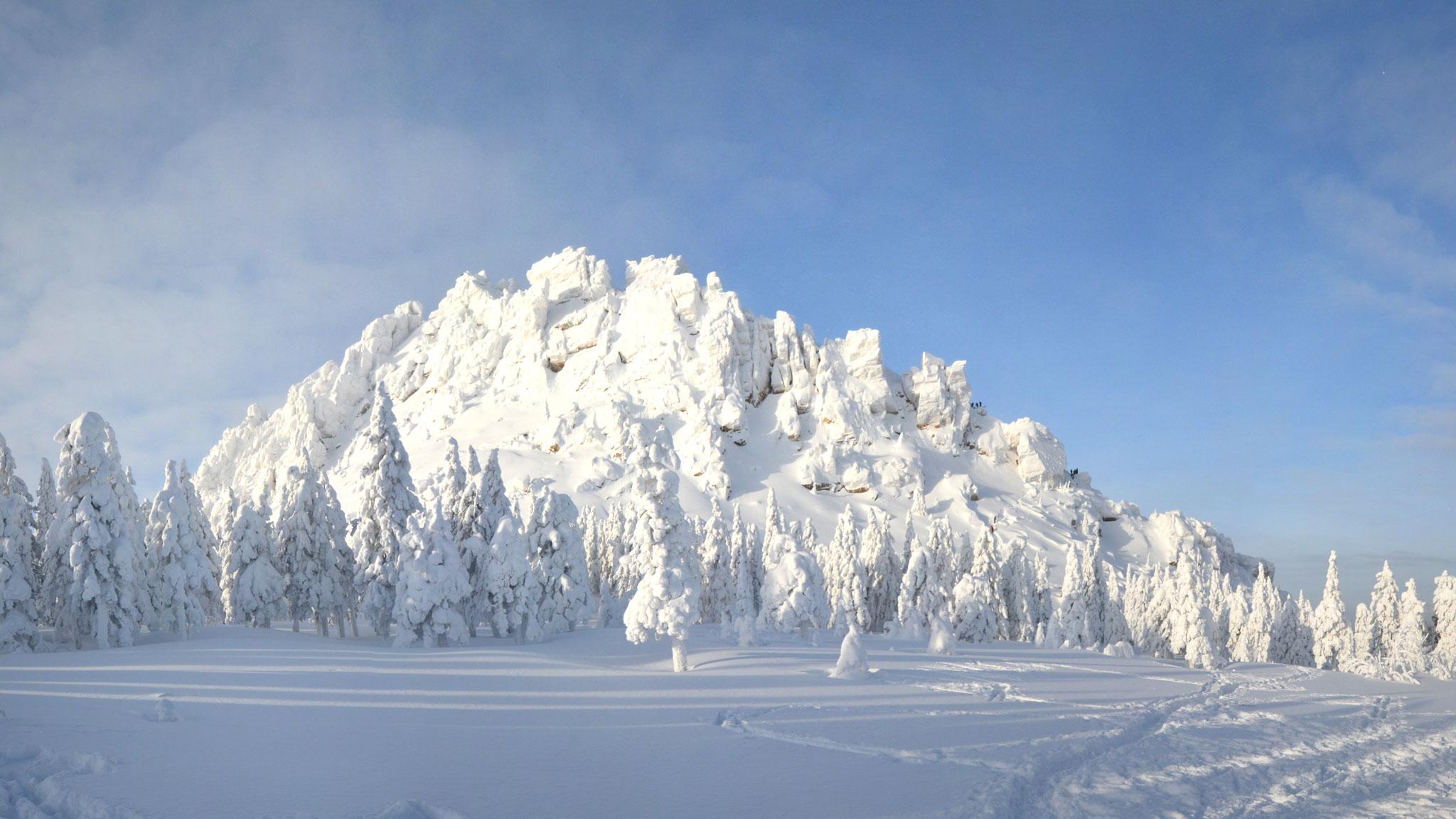 Средние минимальные и максимальные высоты уральских гор
