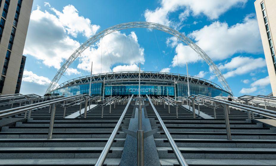 Стадион «Уэмбли» принял финал Евро-2020 с 75% заполненных трибун. Фото: Global Look Press