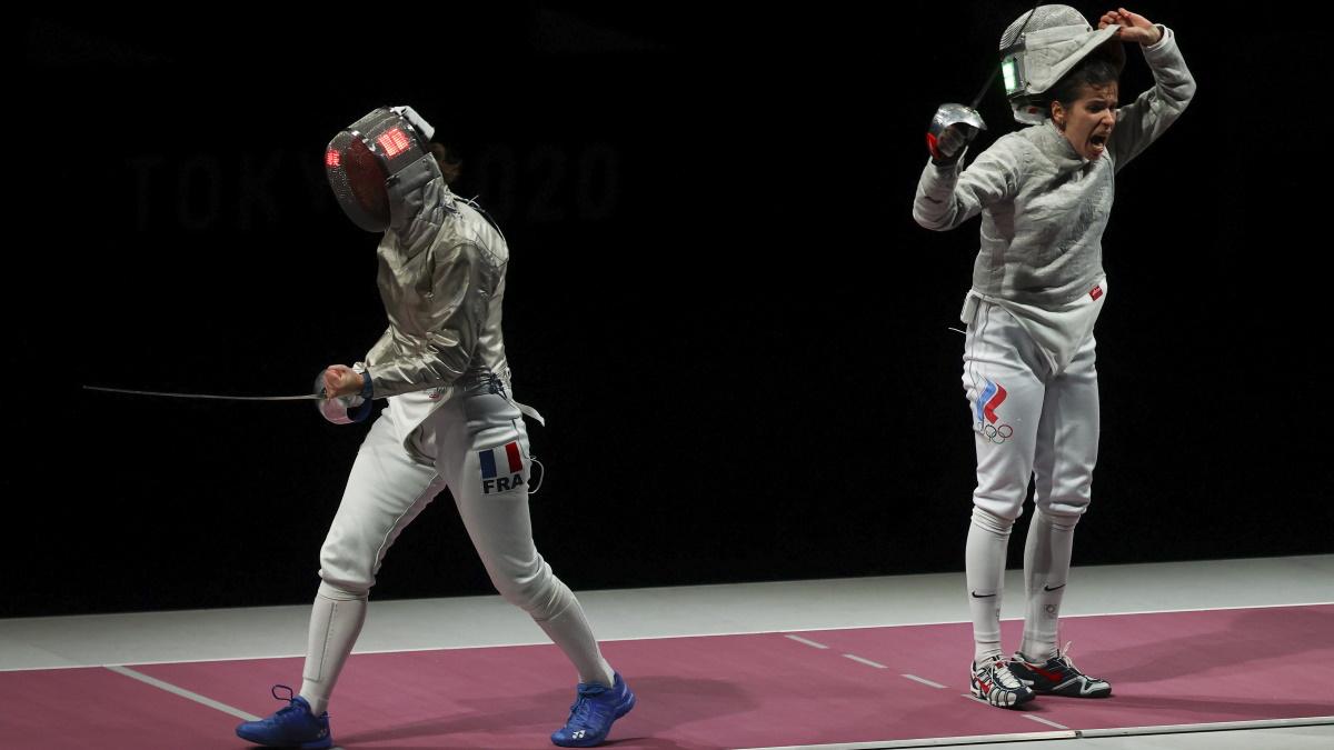 Ольга Никитина после победного боя с француженкой. Фото: REUTERS