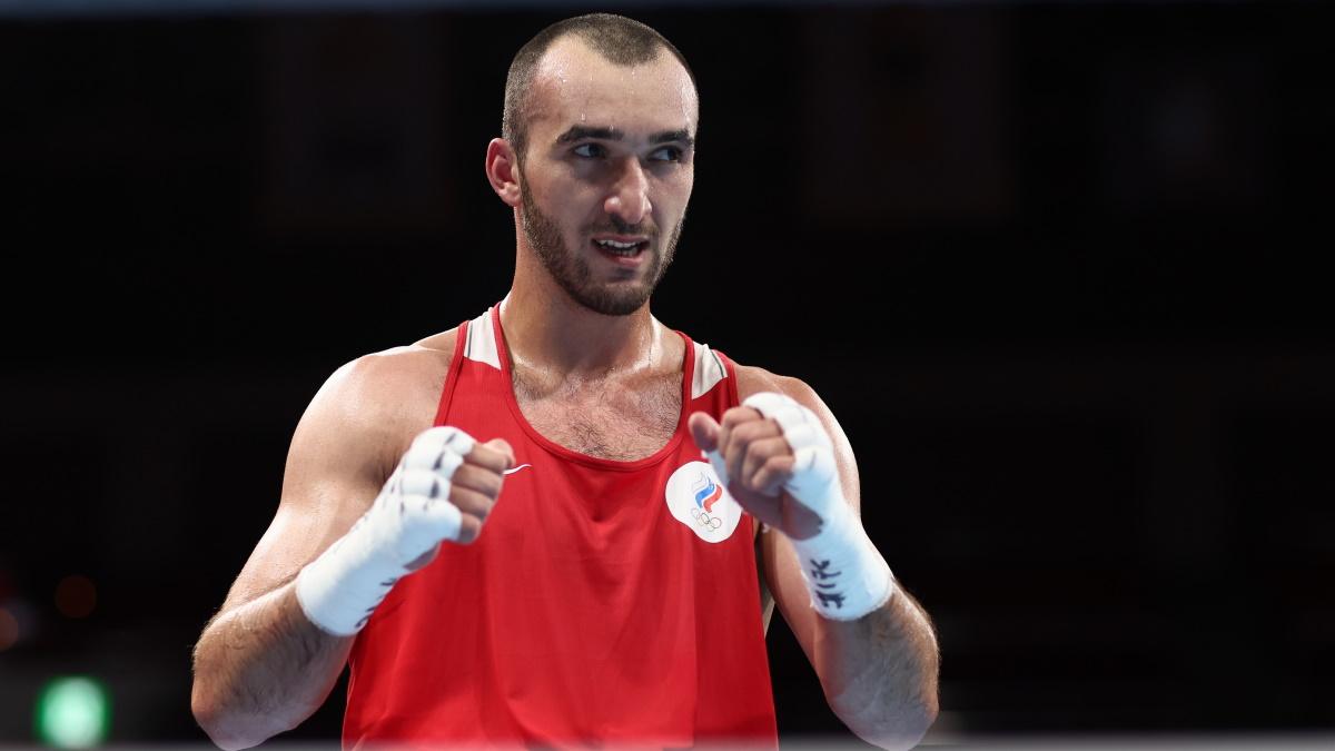Муслим Гаджимагомедов бился за победу в финале Олимпиады-2020. Фото: REUTERS