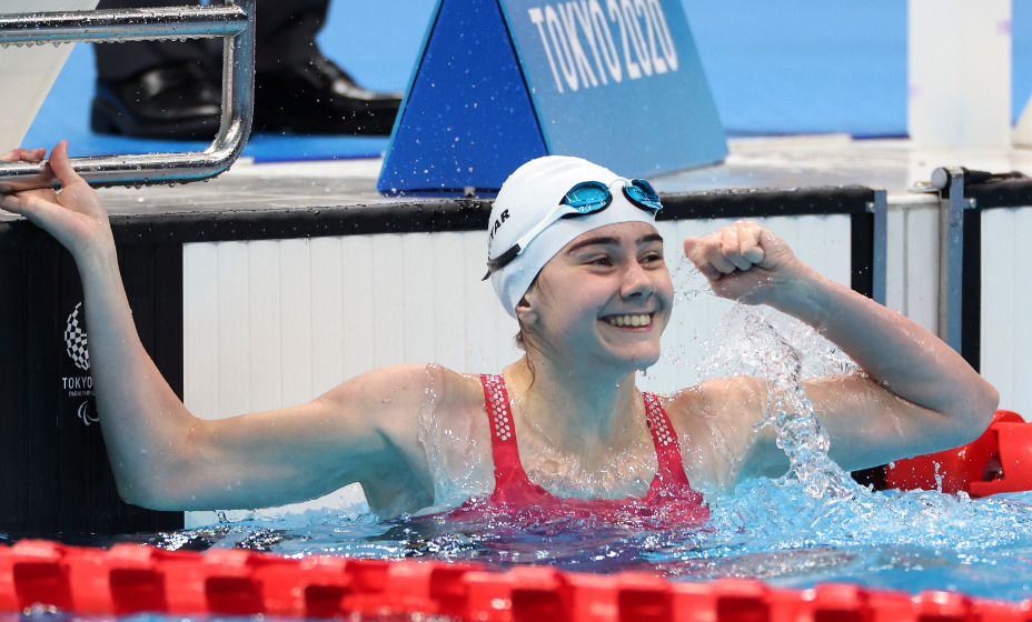 Пловчиха Анастасия Гонтарь завоевала золотую медаль Паралимпийских игр. Фото: Reuters