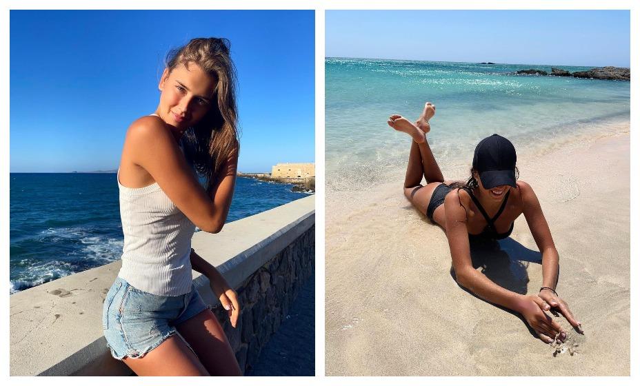 Гимнастка Александра Солдатова поделилась новыми фотографиями с отдыха. Фото: Instagram Солдатовой