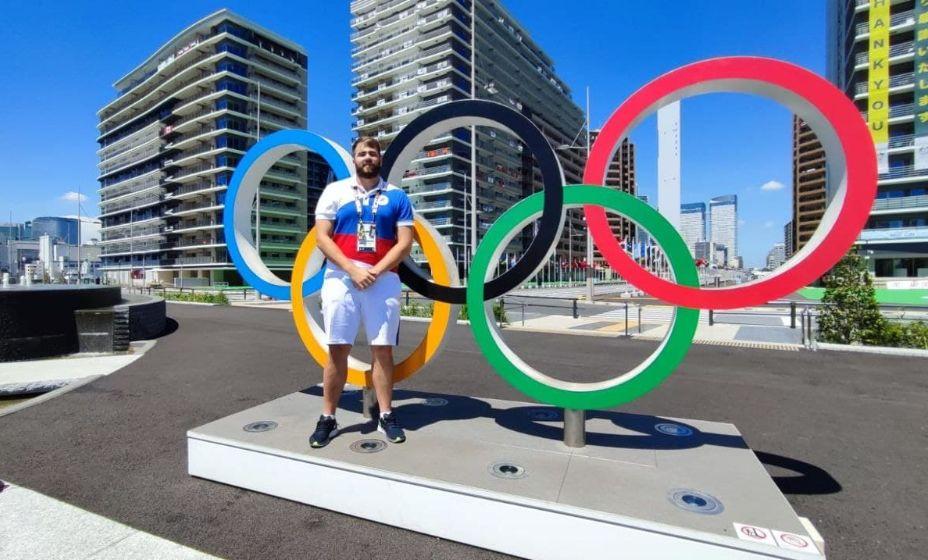 Метатель молота Валерий Пронкин выступил в Токио-2020 хорошо, но этого для медали не хватило. Фото: Личный архив Вадима Херсонцева