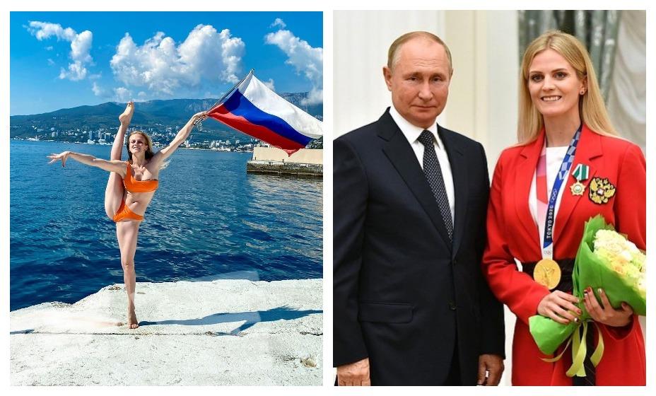 Марина Голядкина после встречи с президентом России Владимиром Путиным отправилась в Крым. Фото: Instagram Голядкиной