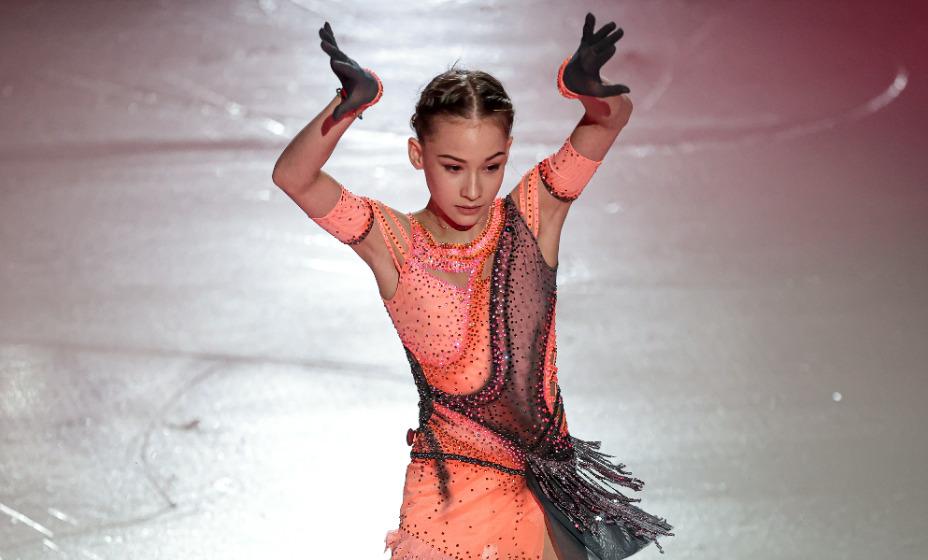 Софья Акатьева снова первая. Она покорила всех своими четверными прыжками